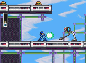 Megaman X Screenshot