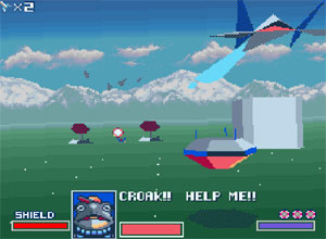 Star Fox SNES Screenshot