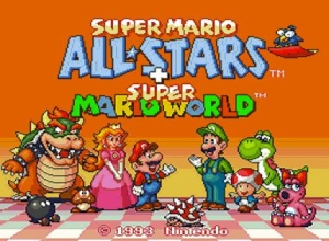 Super Mario All-Stars Screenshot